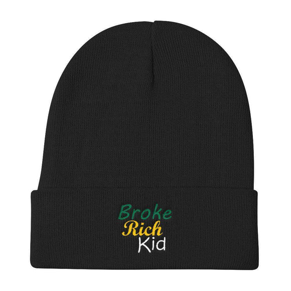 Broke Rich Kid Beanie - Just JKing