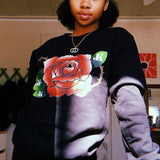 Rose Sweatshirt - Just JKing