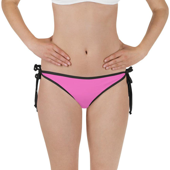 Neon Pink Queen Bikini Bottom (Reversible) - Just JKing