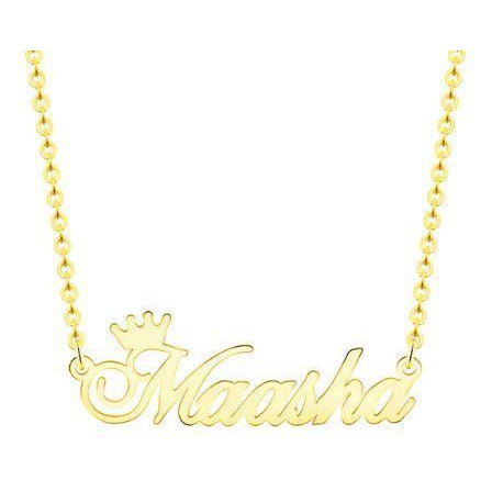 Personalized Royalty Name Necklace - Just JKing