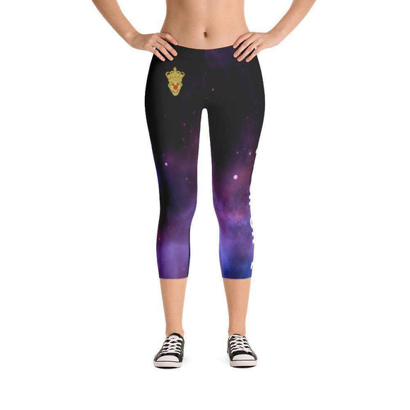 Queen Sh*t Capri Leggings - Just JKing