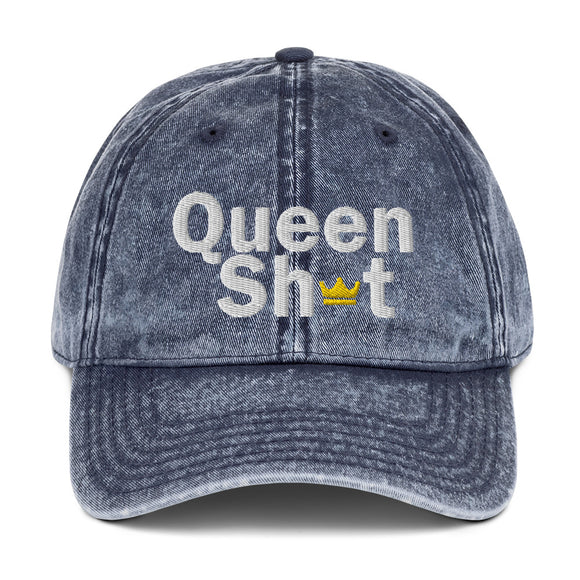 Queen Sh*t Vintage Cap - Just JKing