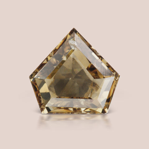 Natural Champagne Shield Diamond