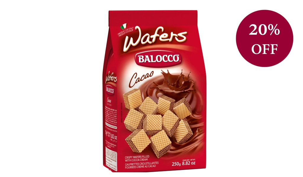Cocoa Wafers 250G Biscuits