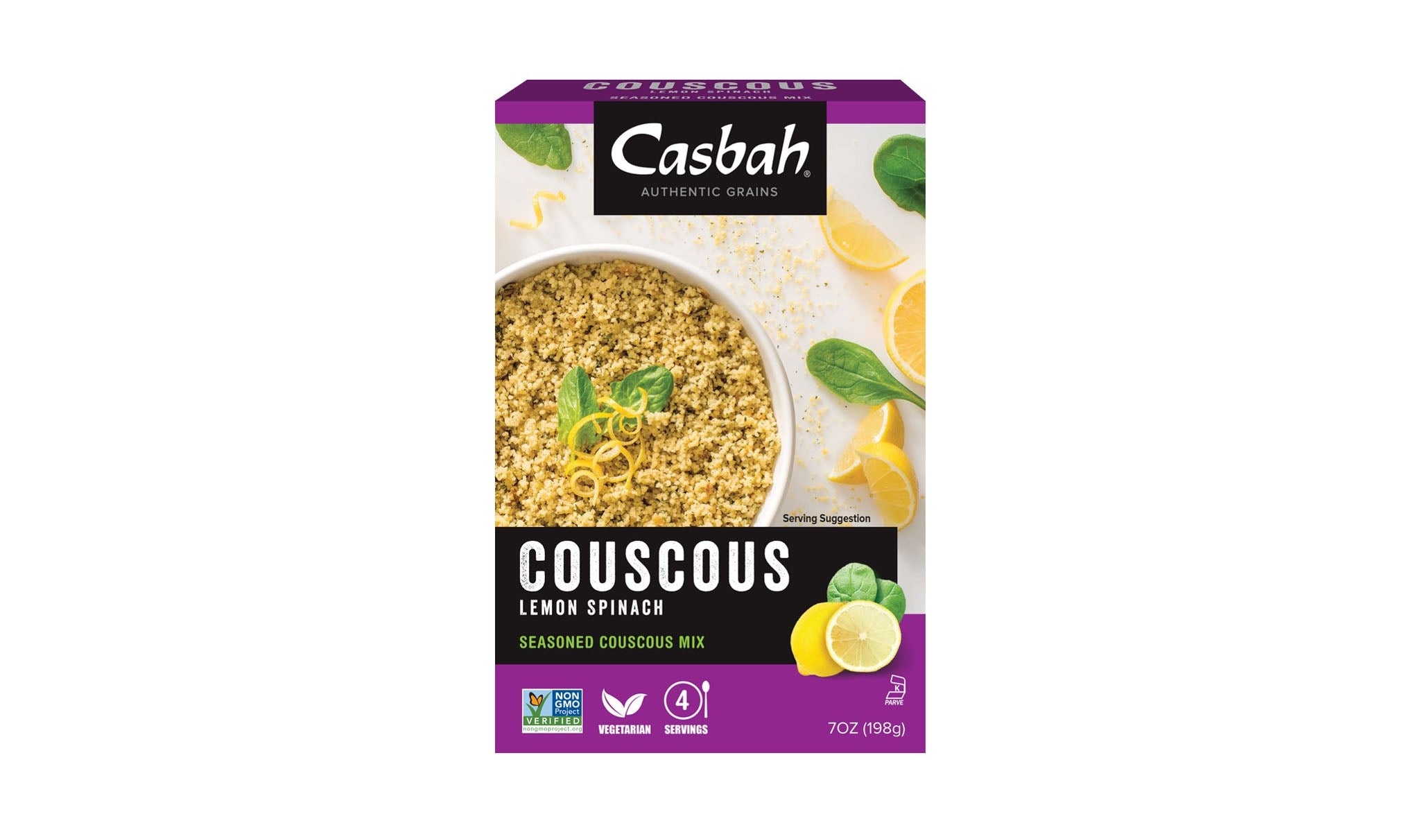 Casbah Lemon Spinach Couscous 198g