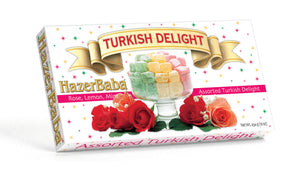 Rose, Lemon & Mint Turkish Delight 454g