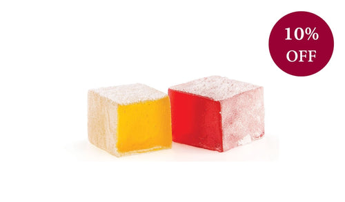 Rose & Lemon Bulk Turkish Delight 3Kg