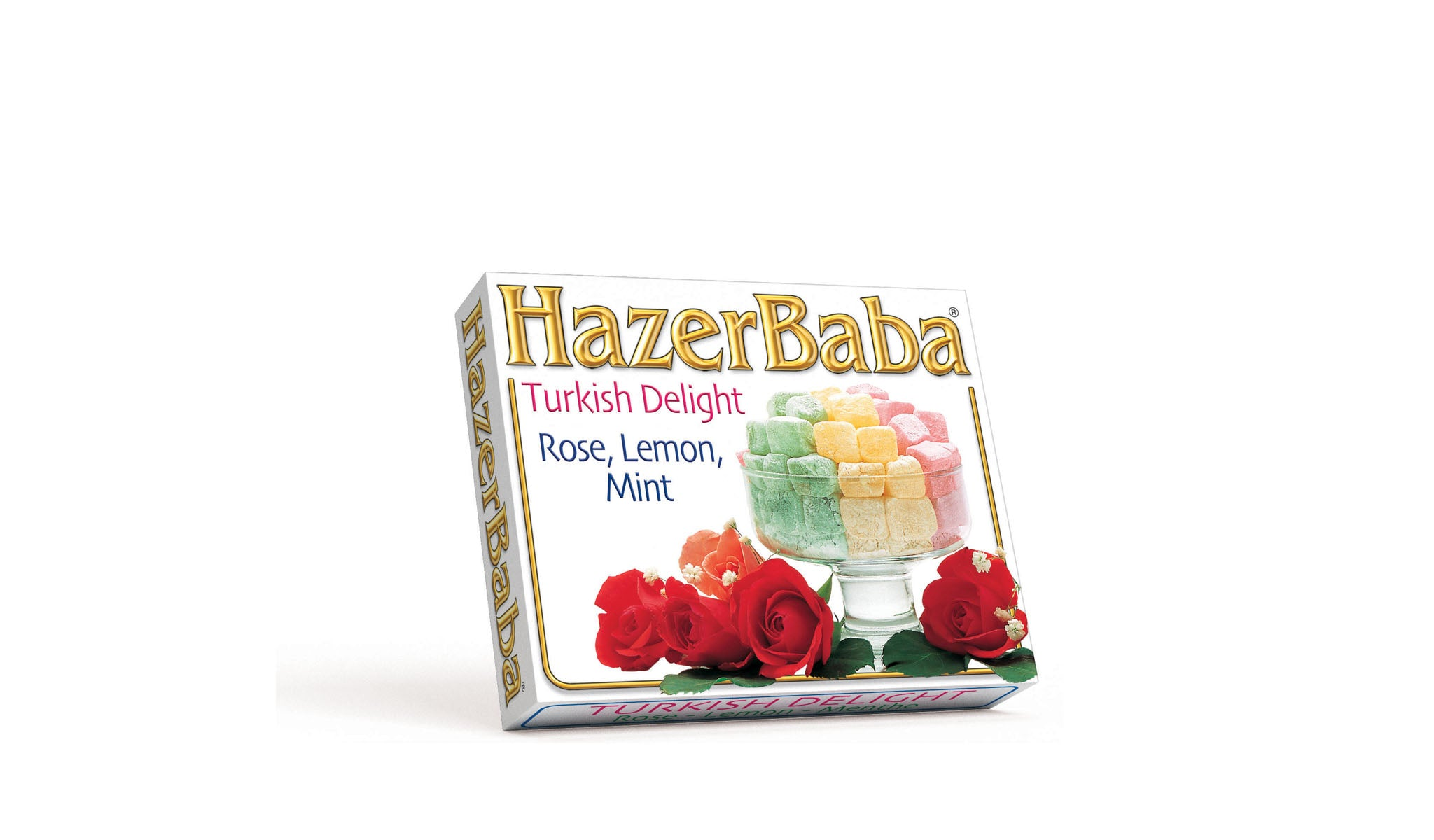 Rose, Lemon & Mint Turkish Delight 125g