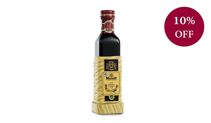 Balsamic Vinegar Of Modena - Impagliato Rattan Two Leaf 250Ml