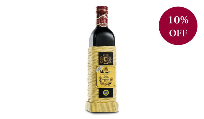Balsamic Vinegar Of Modena - Impagliato Rattan Two Leaf 500Ml