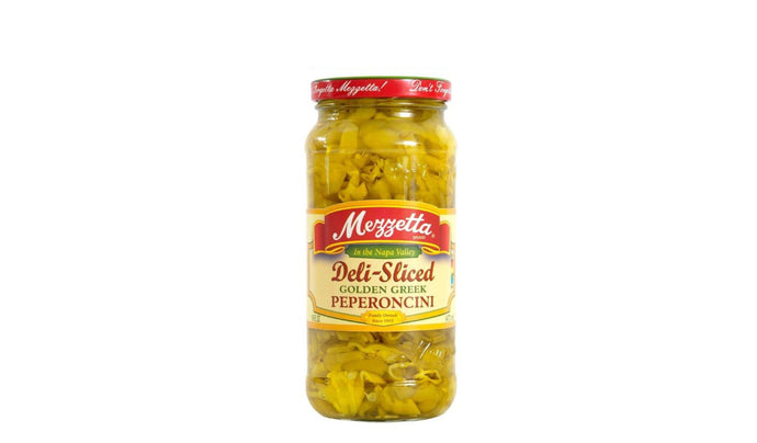 Deli-Sliced Golden Greek Peperoncini 473ml