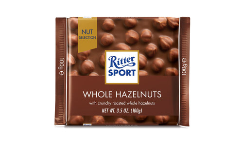 Milk Whole Hazelnuts Chocolate 100G