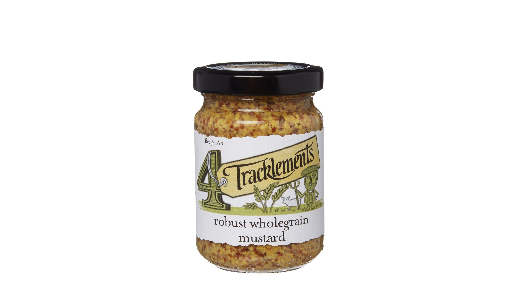 Robust Wholegrain Mustard 140g