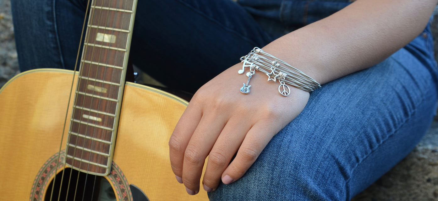 high strung studios guitar string jewelry. Black Bedroom Furniture Sets. Home Design Ideas