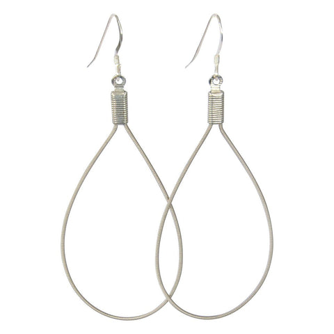 Classic Teardrop Guitar String Earrings