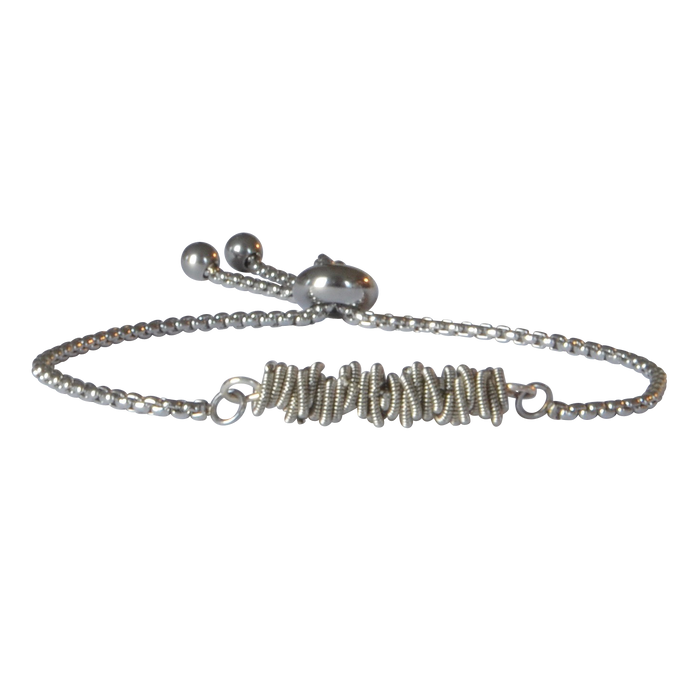 Aria Staccato Bracelet - Silver