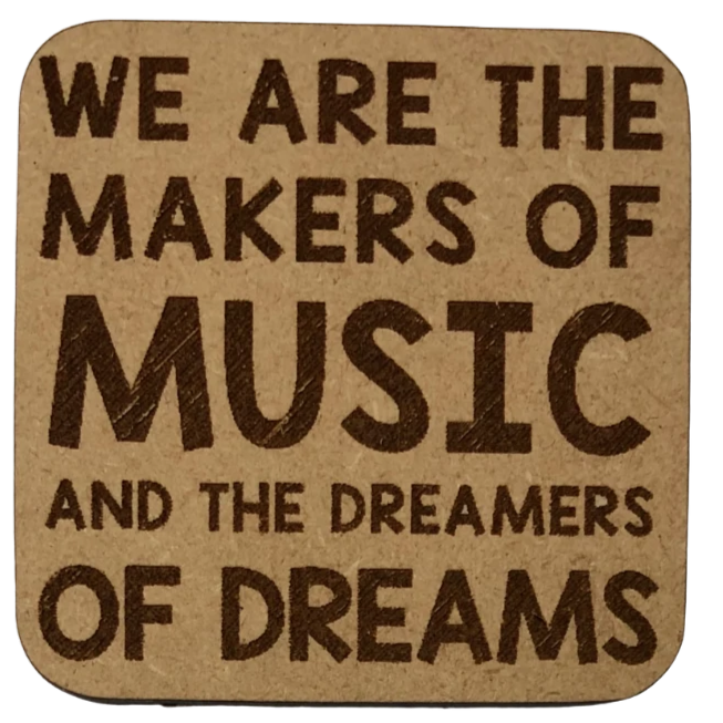 Magnet - We are the Makers of Music and the Dreamers of Dreams