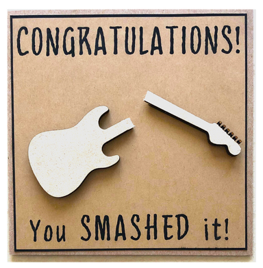 Greeting Card - Congratulations - You Smashed It