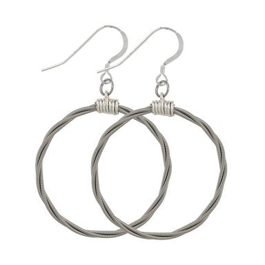 Song Circle Earrings
