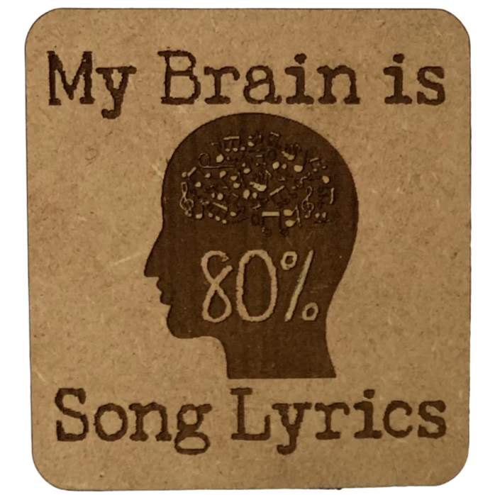 Magnet - My Brain is 80% Song Lyrics