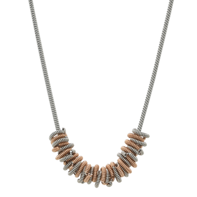 Staccato Necklace - Two-Tone