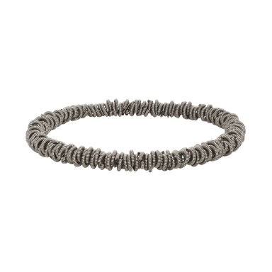 Staccato Stretch Bracelet - Silver