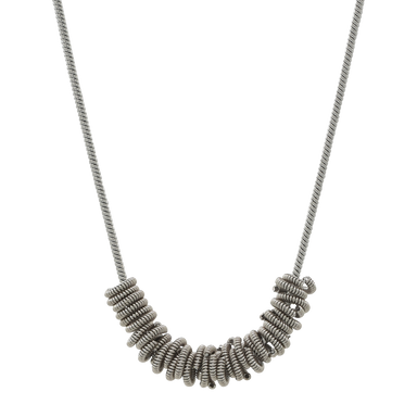 Staccato Necklace - Silver
