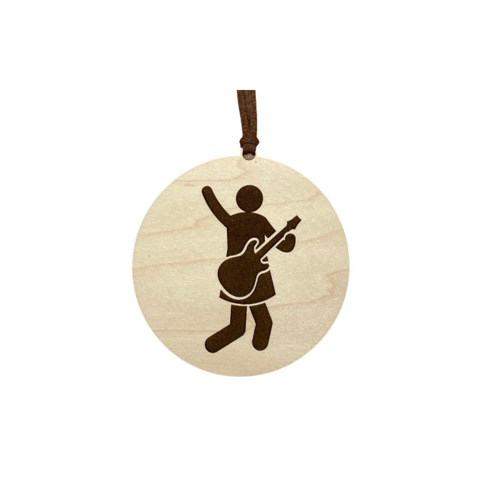 Laser Engraved Everyday Ornament - Jump Rock Dress