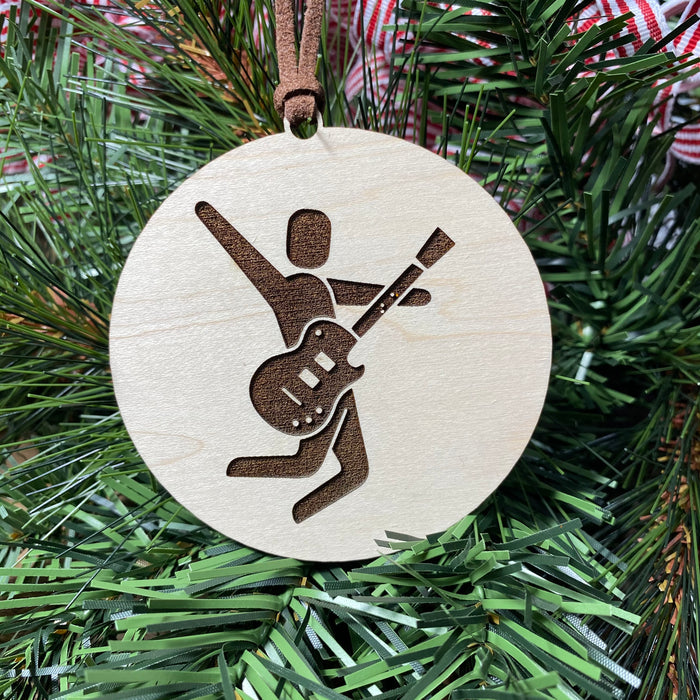 Laser Engraved Everyday Ornament - Jump Rock