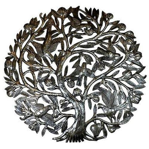 Home Decor - Tree of Life with Buds 24-inch Metal Wall Art