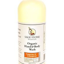 Load image into Gallery viewer, Organic Hand & Body Wash - Tangerine Lemongrass