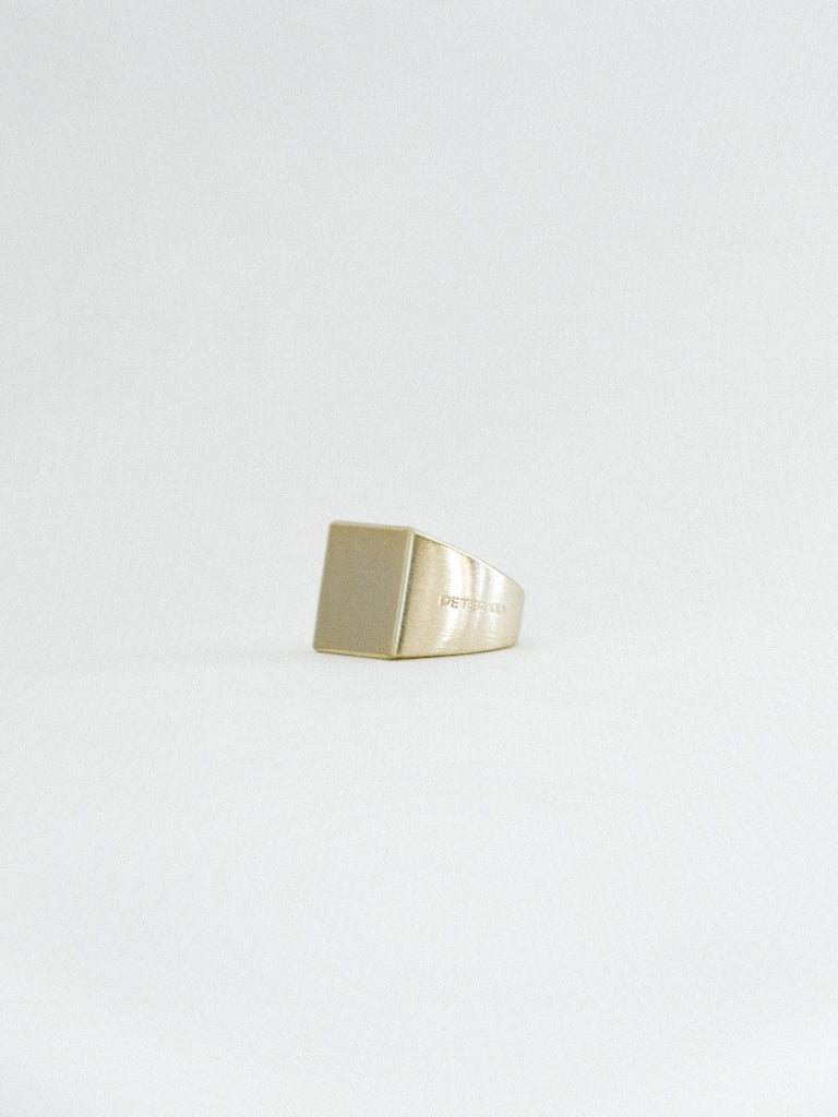 GOLD INSIGNIA RING