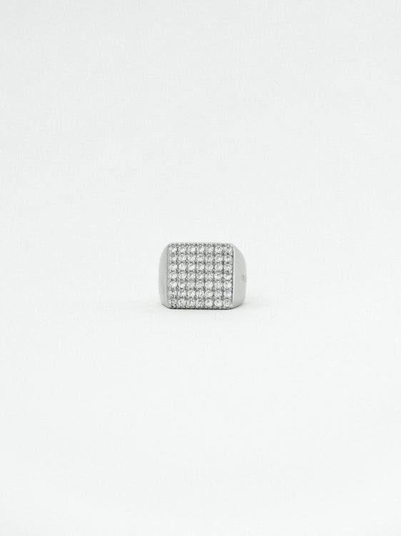 CRYSTAL INSIGNIA RING