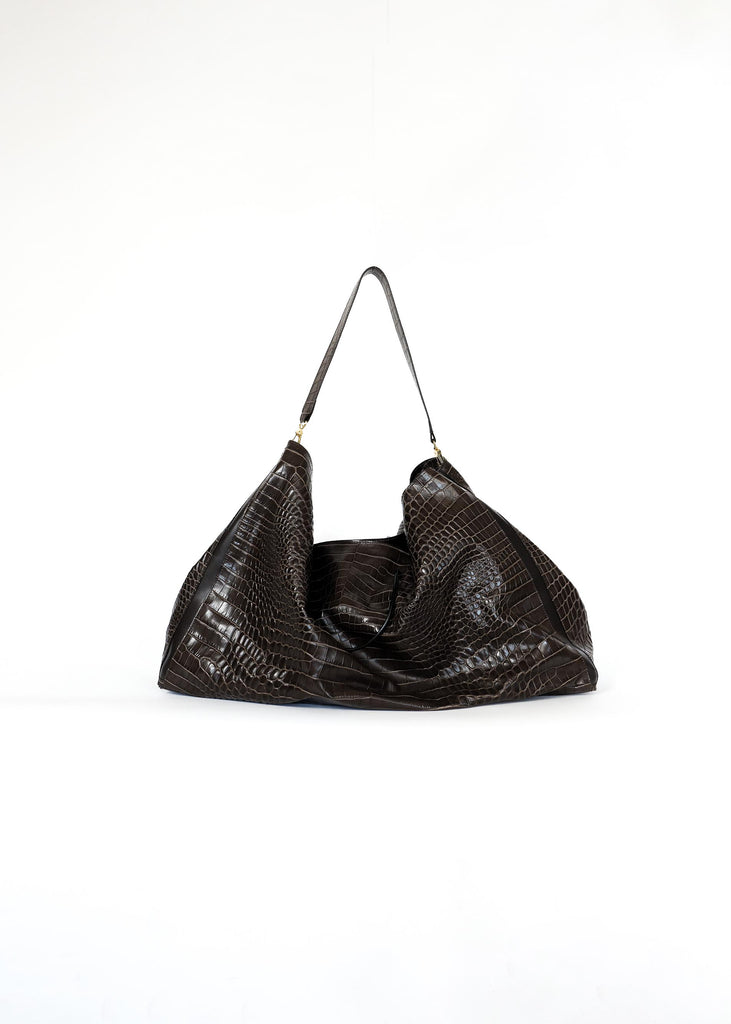 PETER DO X MEDEA CHOCOLATE EVERYDAY TOTE