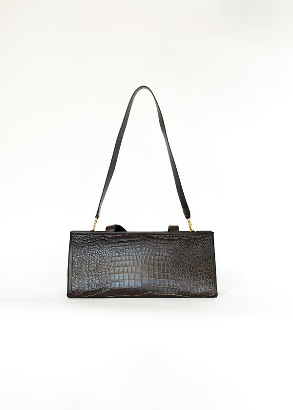 PETER DO X MEDEA CHOCOLATE BAGUETTE BAG