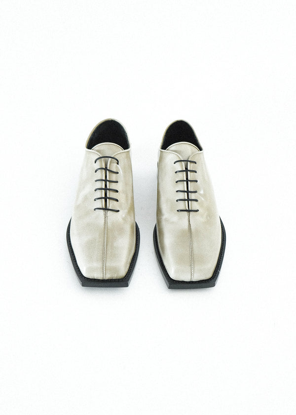 SMOKE SQUARE TOE OXFORD