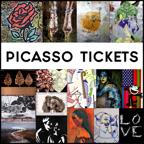 2 PICASSO TICKETS