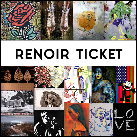 RENOIR TICKET SOLD OUT
