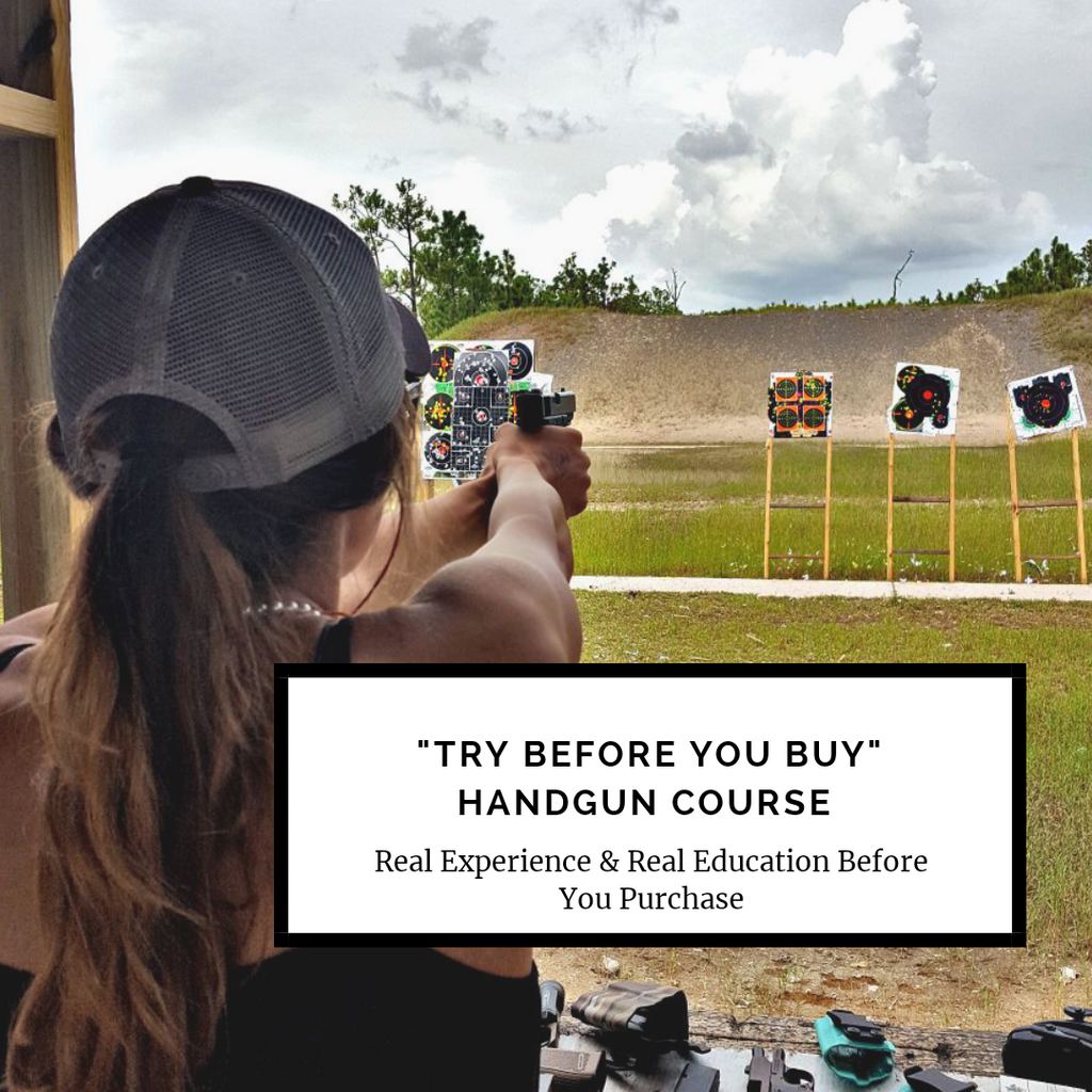 """Try Before You Buy"" Handgun Class"