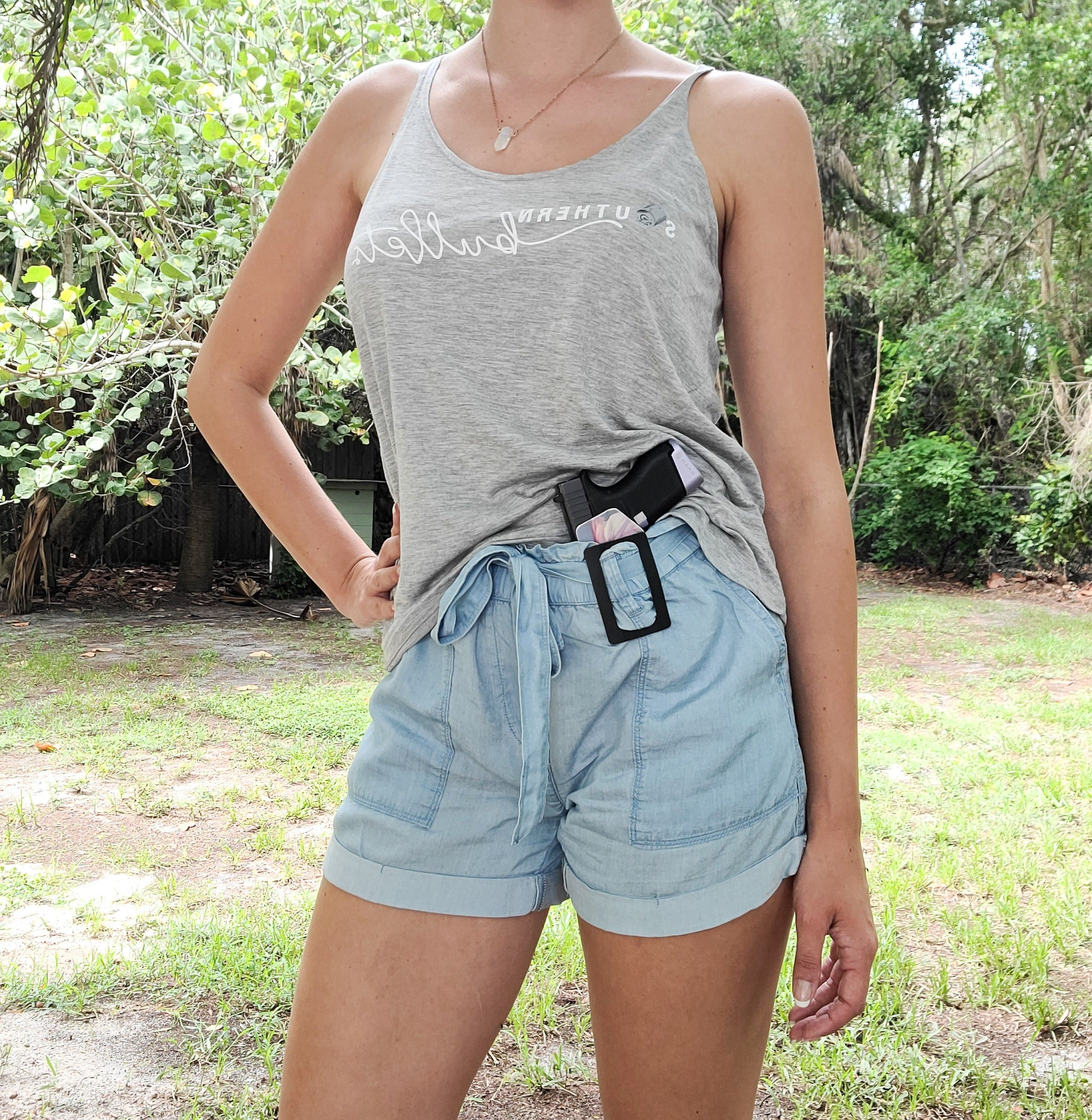 Southern Bullets CCW Tank Top - GRAY