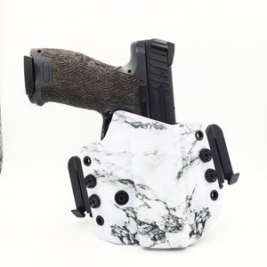 White Marble Wingwomen OWB Holster