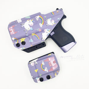 Purple Unicorn Wingman Holster (IWB)
