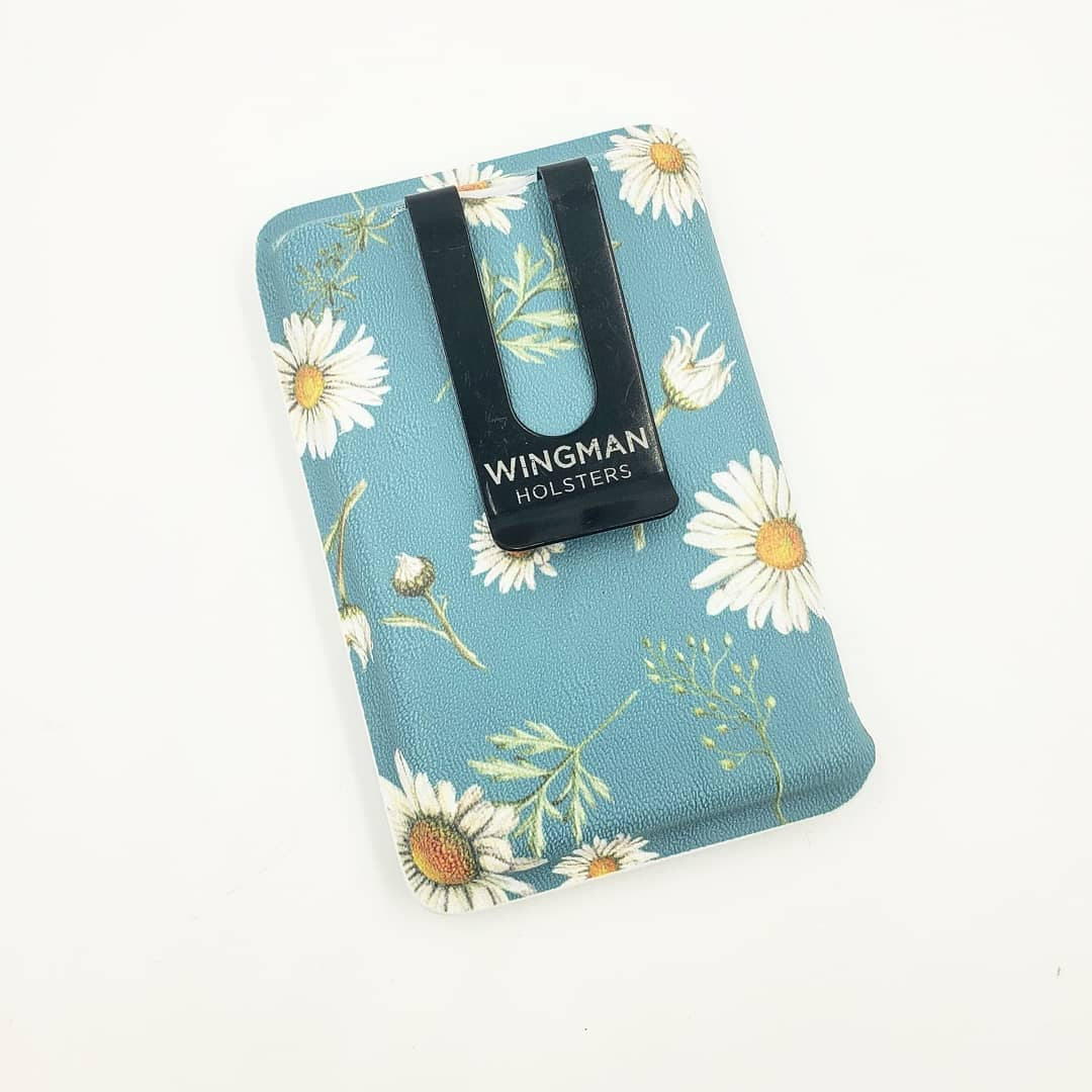 Daisy Flower Kydex Wallet