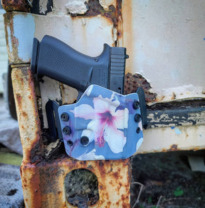 Hibiscus Flower Wingwomen OWB Holster
