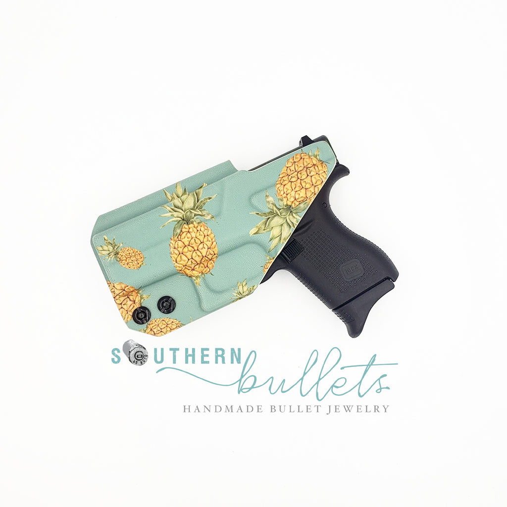 Teal & Pineapple Wingman Holster (IWB)