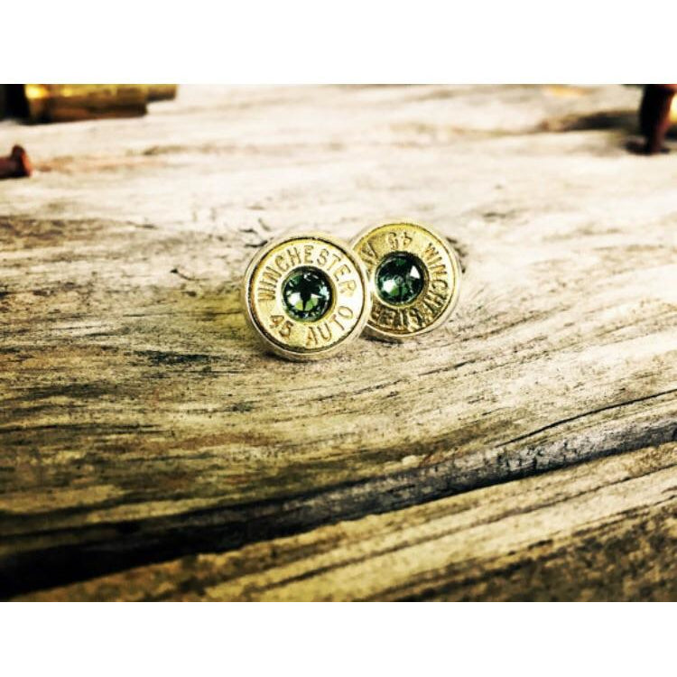 45acp Brass Earring Studs - Southern Bullets