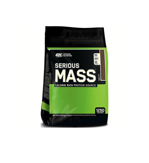 OPTIMUM NUTRITION SERIOUS MASS 12lbs