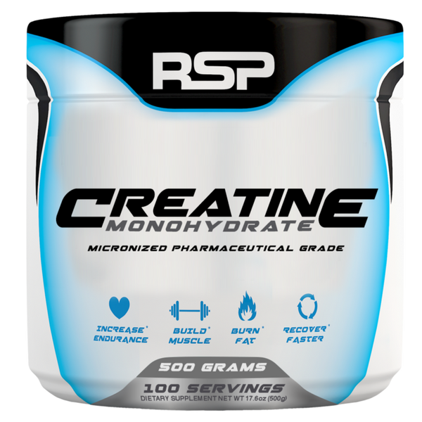 Buy RSP Creatine Monohydrate this sports supplement from Payless Supplements, today