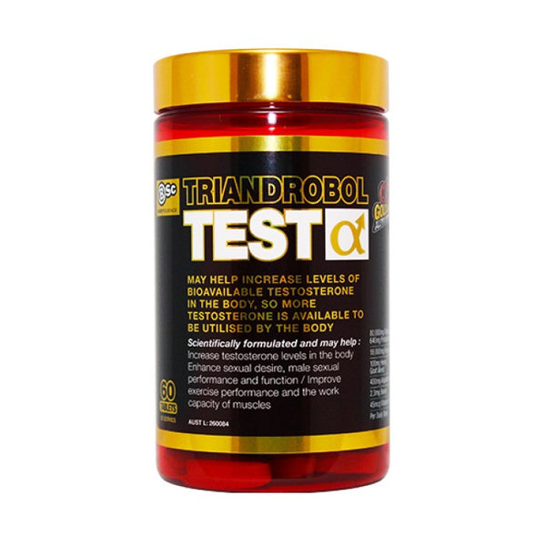 BSC TRIANDROBOL TEST - 60 TABLETS