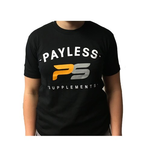 Payless Supplements Women's Black T-Shirt